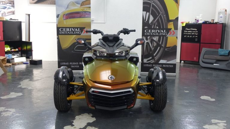 Covering Can Am Spyder F3S Cerival detailing Troyes